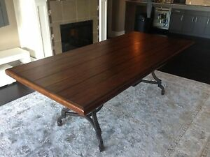 "7'2"" Dining Table"