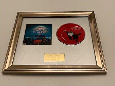 THE NEW CLASSIC FRAMED CD PRESENTATION RARE SIGNED//AUTOGRAPHED IGGY AZALEA
