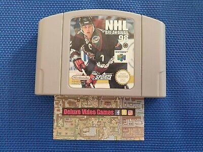 NINTENDO 64 N64 : NHL breakaway 98