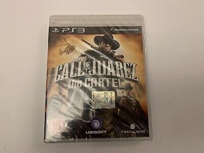Call of Juarez The cartel PS3 (PAL) NEW SEALED