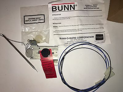 Bunn 04314.0001 Thermostat Replacement Kit Tinned Dsi Parts 800-4314