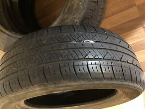 Two seasons used summer tires P205/55 R16