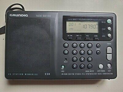 Grundig Yacht Boy 400 shortwave radio LW/MW/SW/FM