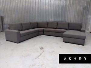 Corner Lounge Chaise Sofa Factory Outlet FURNITURE OUTLET Epping Whittlesea Area Preview