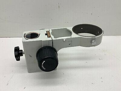 Stereo Microscope Head Holder Arm Bracket Adjustable Height