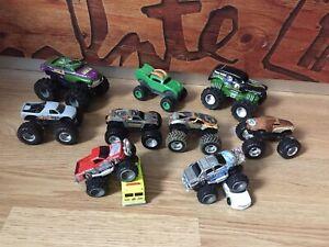 Lot Monster Truck