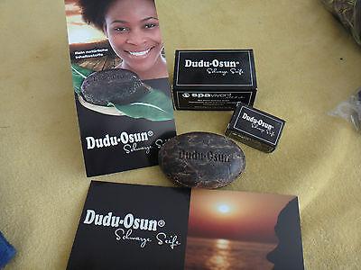 Dudu-Osun Schwarze Seife mit rein natürlichen Inhaltsstoffen, Einhorn-Seifendose ()