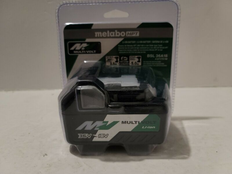 Metabo HPT NEW BSL36A18 Multi-Volt Lithium-Ion Battery