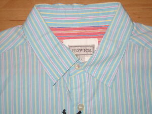 Howick, House of Fraser, Long Sleeved Shirt, Size L  --- new ---