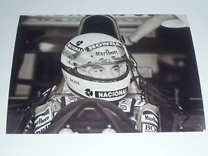 Ayrton Senna 8 x 6  Photo 3
