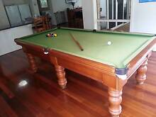 8 x 4 Billiard Table Assorted Queues and Rack Rowville Knox Area Preview