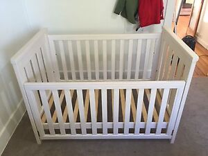 Boori Pioneer Cot/Toddler Bed Cambridge Clarence Area Preview
