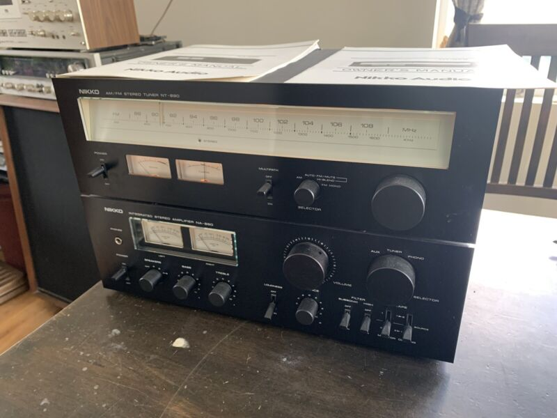 NIKKO NA-690 Stereo Integrated AMPLIFIER NT-890 TUNER Manuals Sansui AU TU Copy