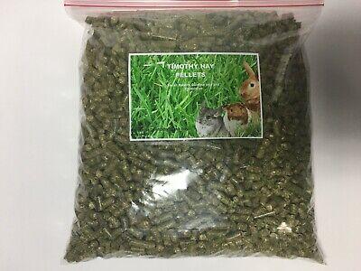 TIMOTHY HAY PELLETS Rabbit,Chinchilla,Guinea Pig 4lb. bulk