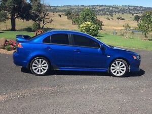 2009 Mitsubishi Lancer VRX Sport Sedan Enmore Armidale City Preview