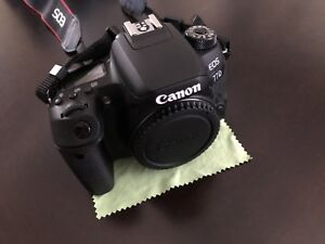 Canon 77D with 18-135mm USM lens. 10/10 condition 2 months old
