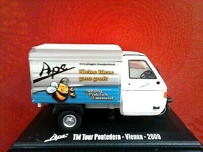 ITALERI 1:32 DIE CAST MOTOCARRO APE TM PONTEDERA VIENNA 2009 ART 768153