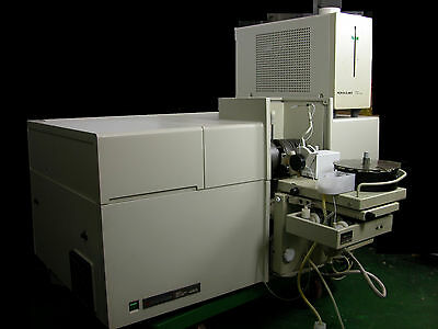 Perkin Elmer Zeeman Labs Atomic Absorption Spectrometer 4100zl Autosampler S1027