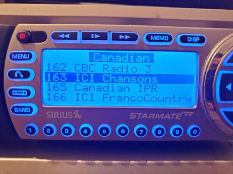 Sirius Statmate Satellite Radio Premium Lifetime activated Boombox (No Howard)