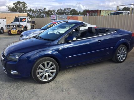 2008 Ford Focus Convertible 2.0 5 speed man