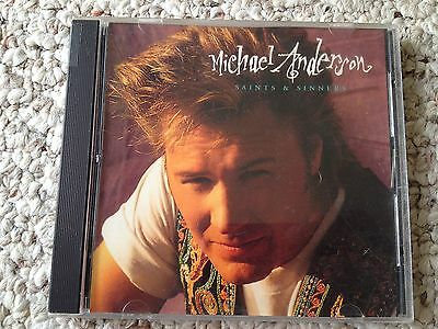 Michael Anderson  Saints   Sinners  Cd 1993 Forefront