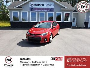 2015 Toyota Corolla S Auto! Bluetooth! BackUp Cam! Heated Sea...