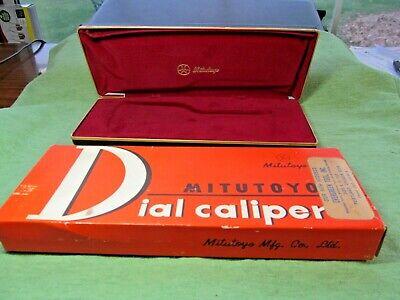 Mitutoyo 505-629 6 Dial Caliper Case Box Only - See Description Pics