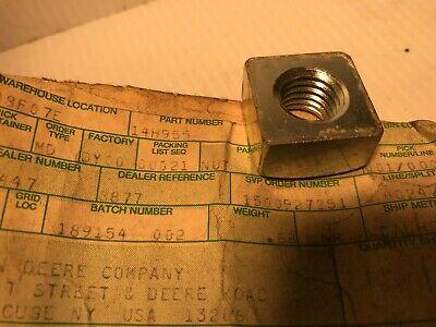 14h955 Genuine John Deere Original Equipment Square Nut  Qty Of 2 Nuts