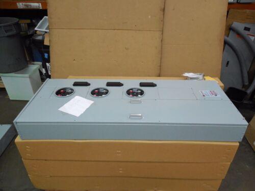 CUTLER HAMMER 1MP3206R 200A AMP 3 RING SOCKET METER SOCKET PACK 1 PHASE 120/240V