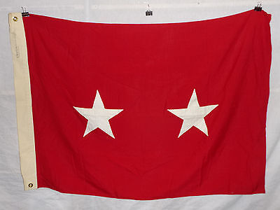 flag785 US Army 2 Star Major General Service Flag wool bunting  Valley W9E
