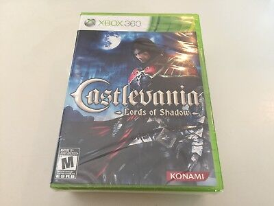 Castlevania: Lords of Shadow (Microsoft Xbox 360, 2010) XBOX 360 NEW