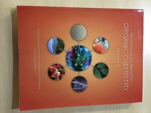 Organic Chemistry Textbook 261/263 Custom U of A editoln