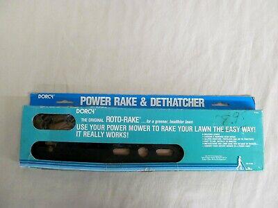 Power Rake Dethatcher (The Original Dorcy Roto-Rake Power Rake and Dethatcher 32-0100; 15