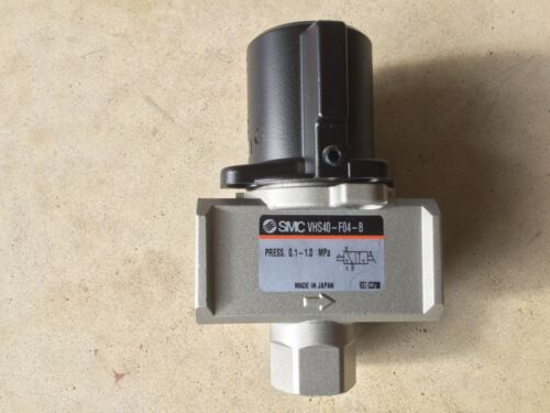 SMC Single Action Pressure Relief Valve VHS40-F04-B (4 valves for this price)