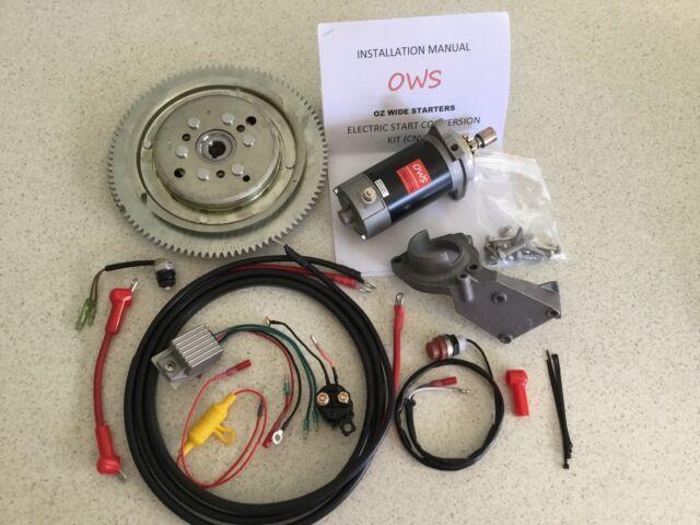 New electric start conversion kits for yamaha hp