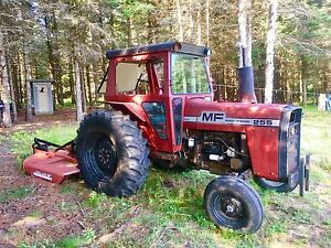1973 255 Massey Ferguson with 6 ft Bush Cutter