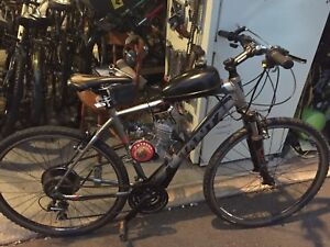 Gas powered bikes and new motor