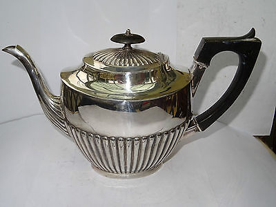Antique Silver Plated Teapot by Henry Wilkinson & Co Ltd