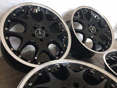 Brabus Felgen 8,5 + 9,5 x 19 Mercedes R230 W219 W218 R129 W211 W215 W220 AMG, gebraucht gebraucht kaufen  Stralsund