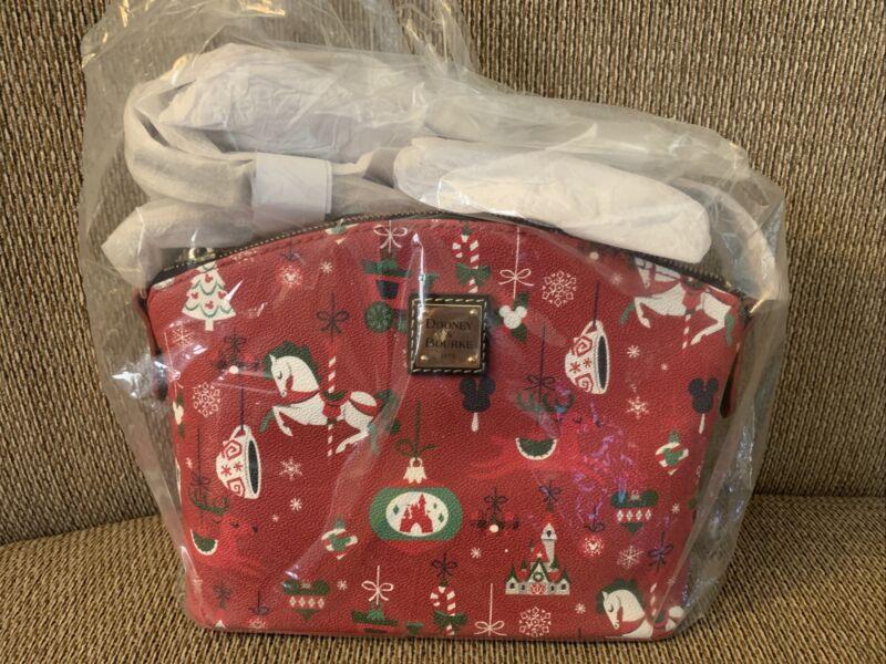 Dooney and Bourke Disney Christmas Holiday Crossbody NWT WDW 2019