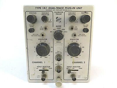 Tektronix Type 1a1 Dual-trace Plug--in Module