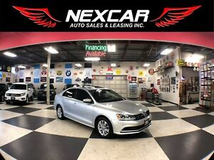 2015 Volkswagen Jetta 2.0L TRENDLINE+ AUT0 A/C SUNROOF REAR CAME