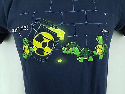 Woot   Teenage Mutant Ninja Turtles Large Shirt Tmnt Retro 80S Cute Nerdy