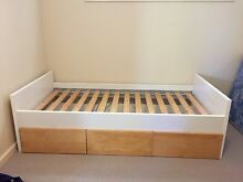 Kids Single Bed with 3 Large Drawers West End Brisbane South West Preview
