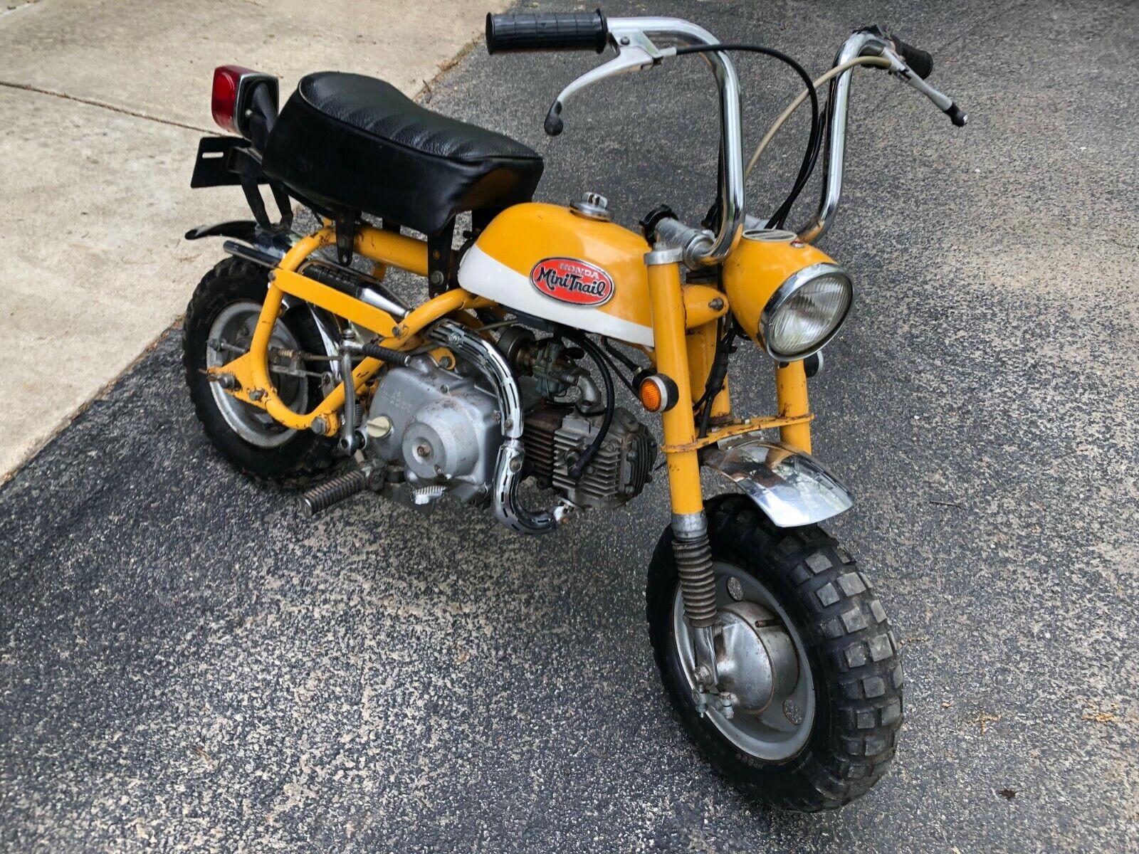 Picture of A 1971 Honda z50a k2 mini trail
