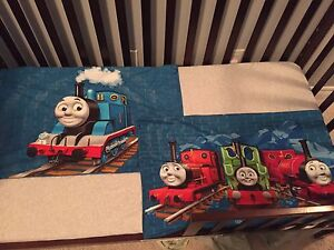Thomas the tank engine toddler bedding