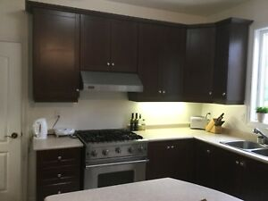 Solid Maple kitchen cabinets and counter top  for sale