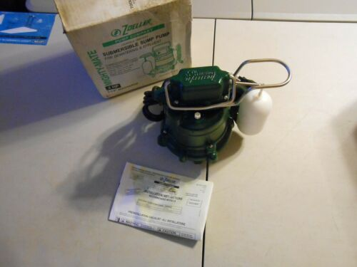 NEW Zoeller M53 Mighty-Mate Submersible Sump Pump 1/3 HP