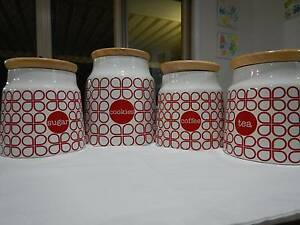 Set of 4 Canisters Beerwah Caloundra Area Preview