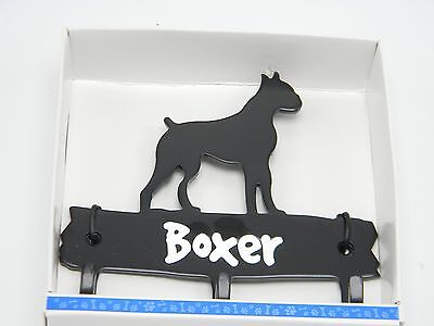 Boxer Leash Hook Hanger Metal Wall Dog Pet Hook Wall  Key Hat